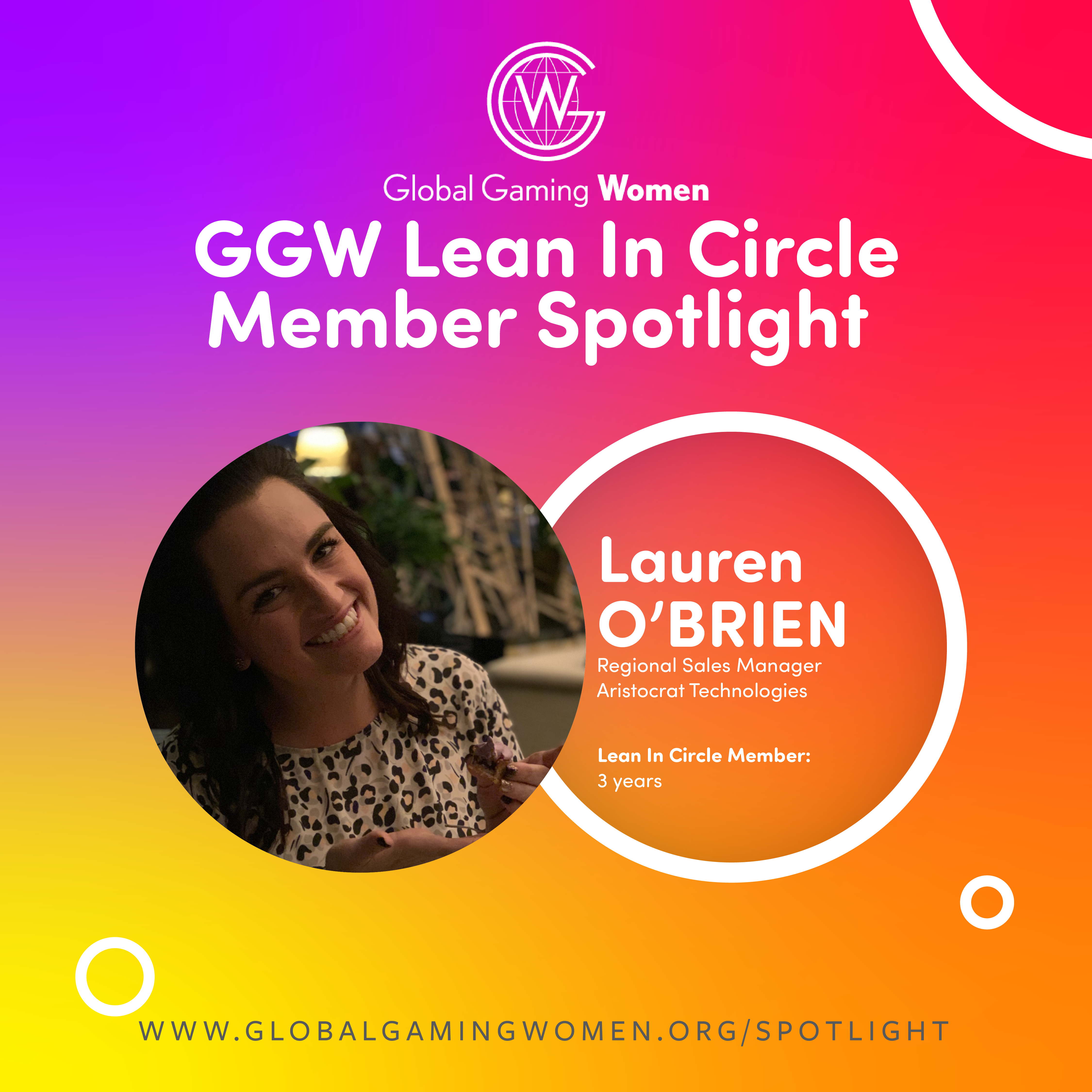 Spotlight: Lauren O'Brien